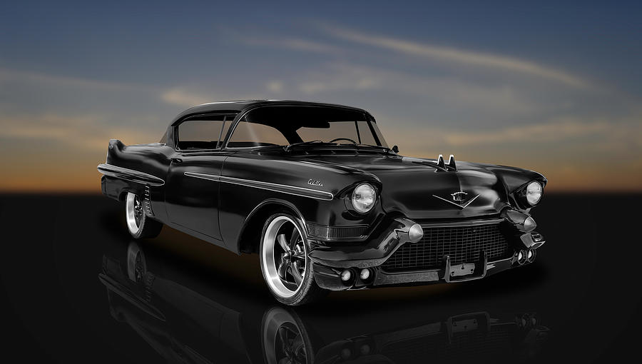 2 Door 1957 Fleetwood Cadillac