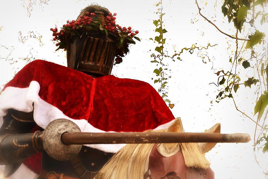 Christmas Knight Photograph by Nadalyn Larsen