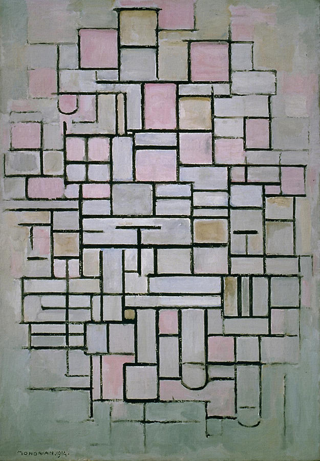 Composition Iv Painting by Piet Mondrian Piet Mondrian Painting   Composition Iv by Piet Mondrian