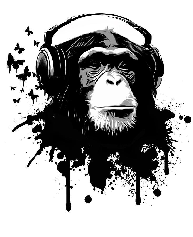Monkey No No Tattoo No Hear Evil See Evil Evil Speak