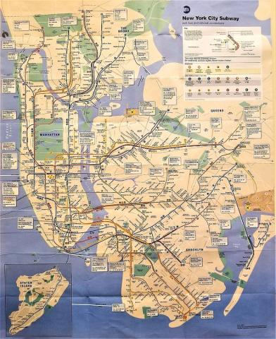 N Y C Subway Map Photograph by Rob Hans New York City Photograph   N Y C Subway Map by Rob Hans