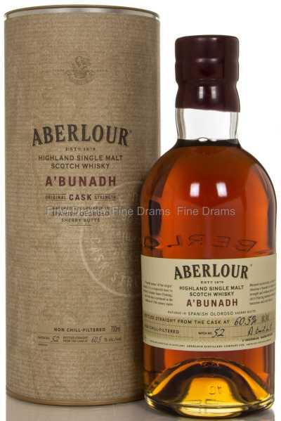 Aberlour A'Bunadh (Batch #52) Scotch Single Malt Whisky