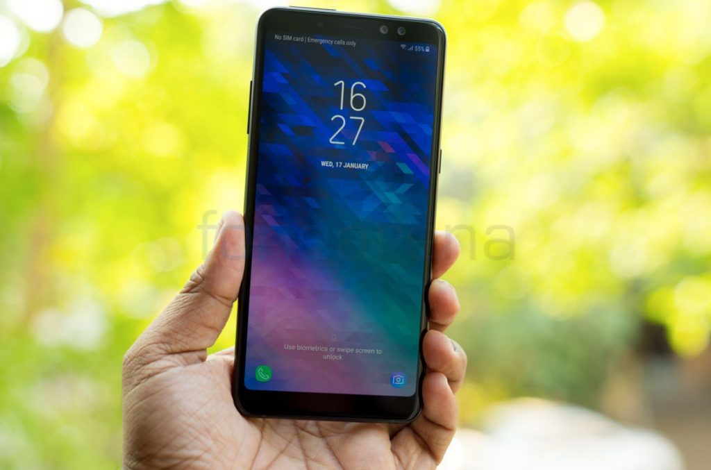 Samsung Galaxy A8 2018 Unboxing And First Impressions