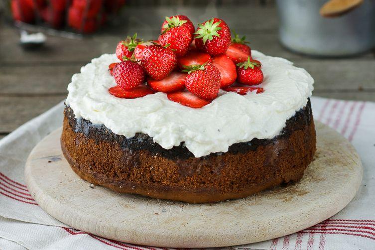 Food52 Strawberry Cake