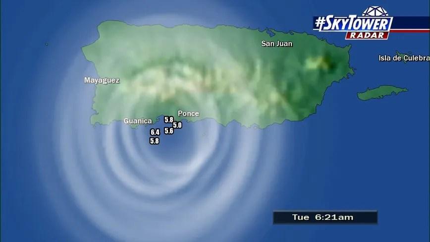 Last Tsunami Puerto Rico