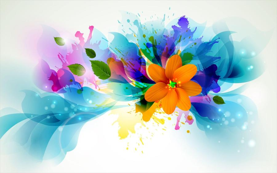 20  Cute Flower Backgrounds   Wallpapers   FreeCreatives Free Bright Cute Flowers Background