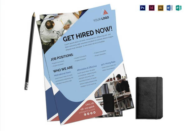 Free 28 Beautiful Job Fair Flyer Templates In Psd