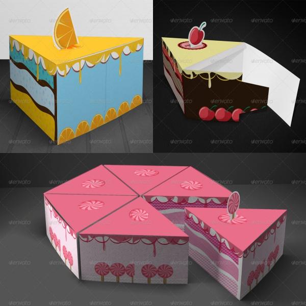 20 Cake Packaging Psd Vector Eps Jpg Download