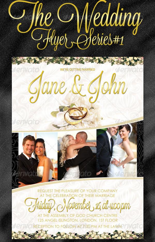 29 Elegant Psd Wedding Flyer Templates Word Ai Eps Formats