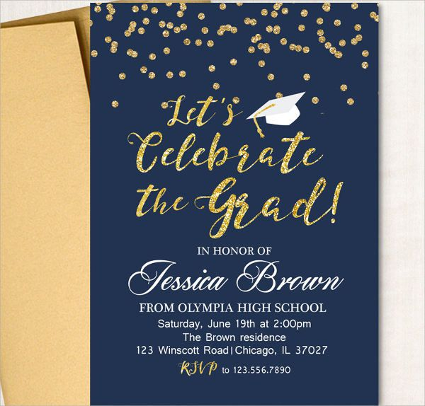High School Graduation Announcements 2017