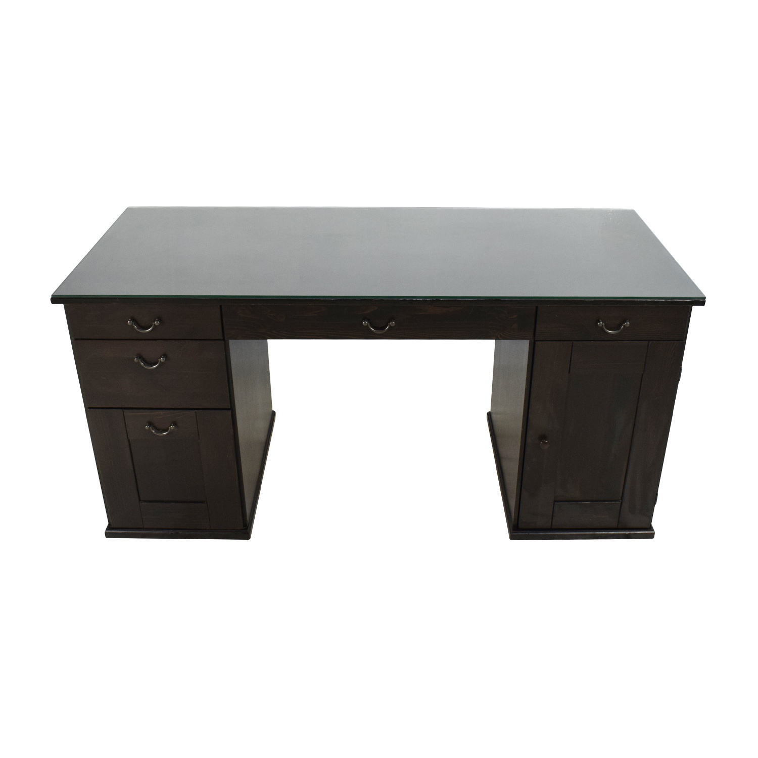 65  OFF   IKEA IKEA Glass Top Office Desk   Tables     shop IKEA Glass Top Office Desk IKEA Tables