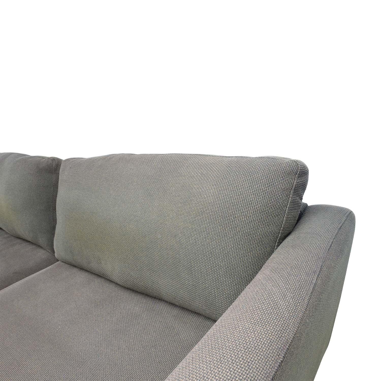 50 Off Ikea Ikea Brown Woven Sofa Sofas