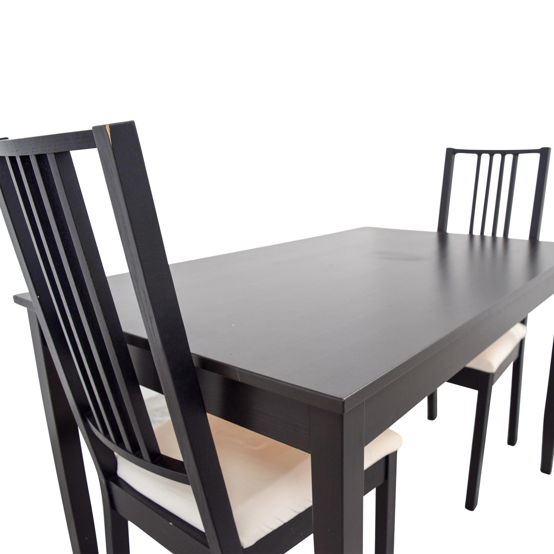 62 Off Ikea Ikea Three Piece Dining Set Tables
