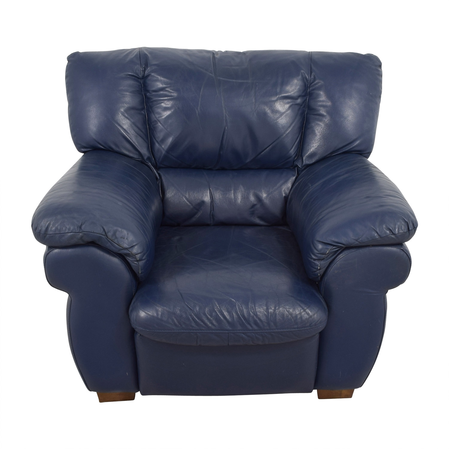 Blue Accent Chair Navy