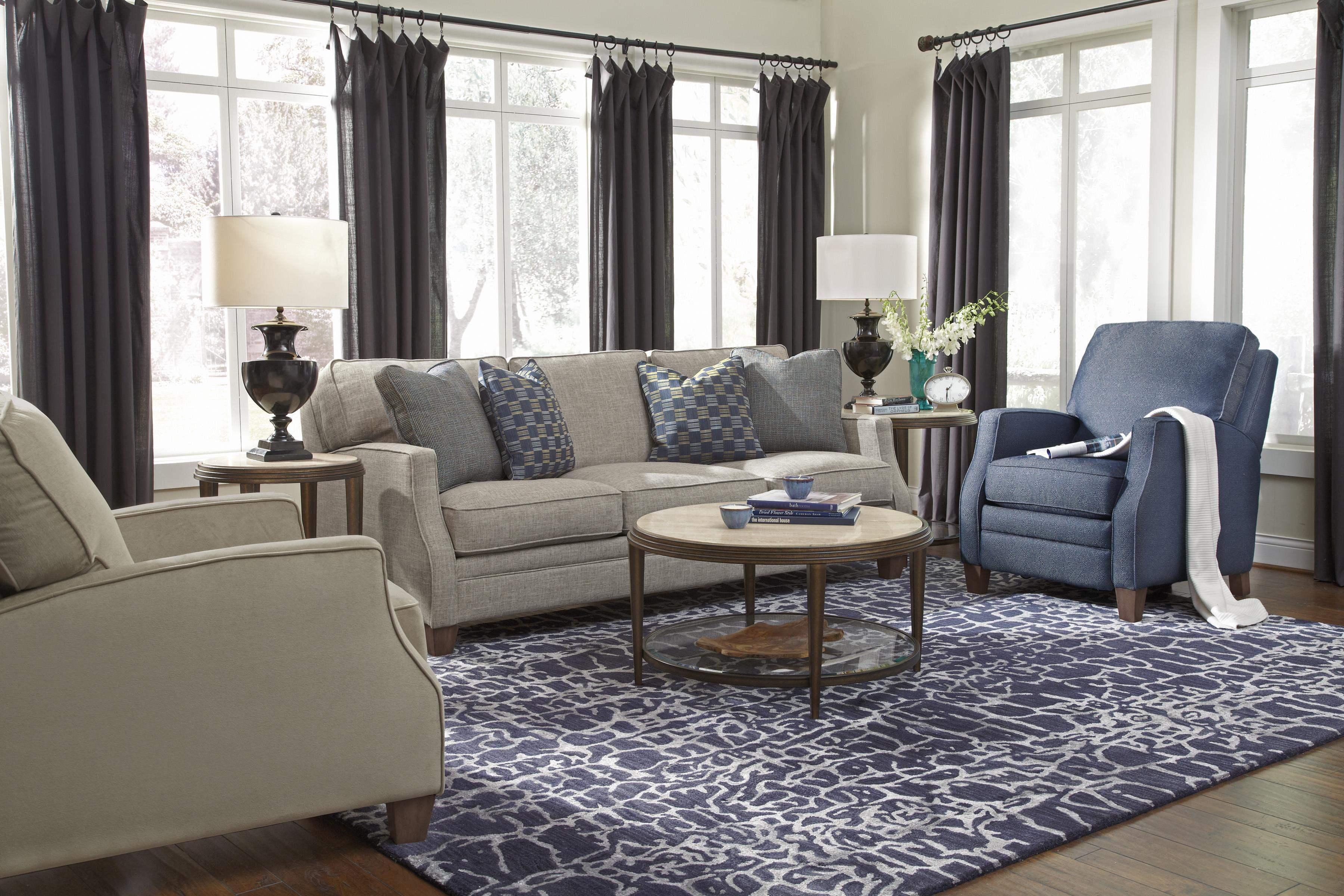 Flexsteel Lenox Three Piece Sectional Sofa with RAF Loveseat     Flexsteel Lenox Three Piece Sectional Sofa with RAF Loveseat   Wayside  Furniture   Sofa Sectional