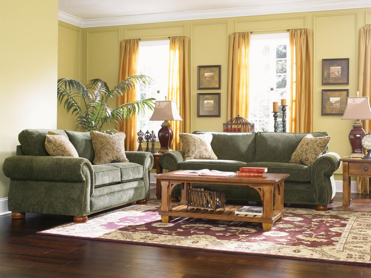 Living Room Two Accent Chairs