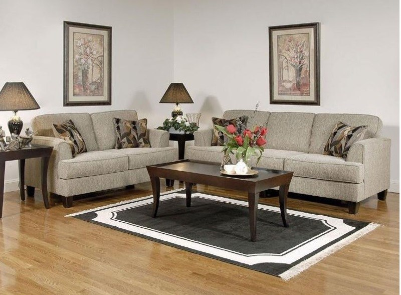 Loveseat And Chaise Sectional