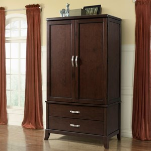 Elements International Delaney Armoire with Silver Hardware   Beck s     Elements International Delaney Armoire with Silver Hardware   Beck s  Furniture   Armoires