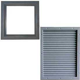 Door Louvers Amp Window Kits Www Globalindustrial Ca