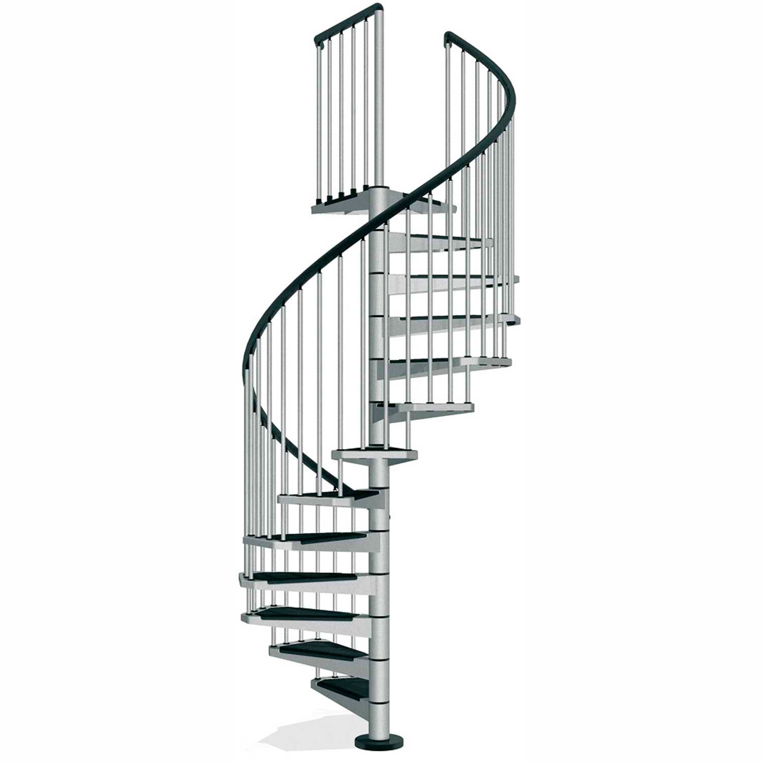 Mezzanines Platforms Stairs Spiral Staircases Arke Civik | Flexible Handrail For Spiral Staircase | Staircase Ideas | Stair Kit | Loft Stairs | Stair Parts | Modern Staircase