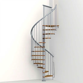 Mezzanines Platforms Stairs Spiral Staircases Ark 233 | Used Spiral Staircase For Sale | Vertical | Exterior | Contemporary | Wrought Iron | Curved