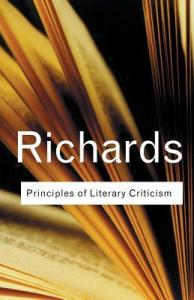 Principles of Literary Criticism  Routledge Classics  by Ivor A     281747