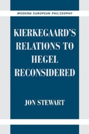 Kierkegaard's Relations to Hegel Reconsidered pdf books