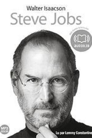 Steve Jobs: Livre Audio 2 CD MP3 - 674 Mo + 591 Mo