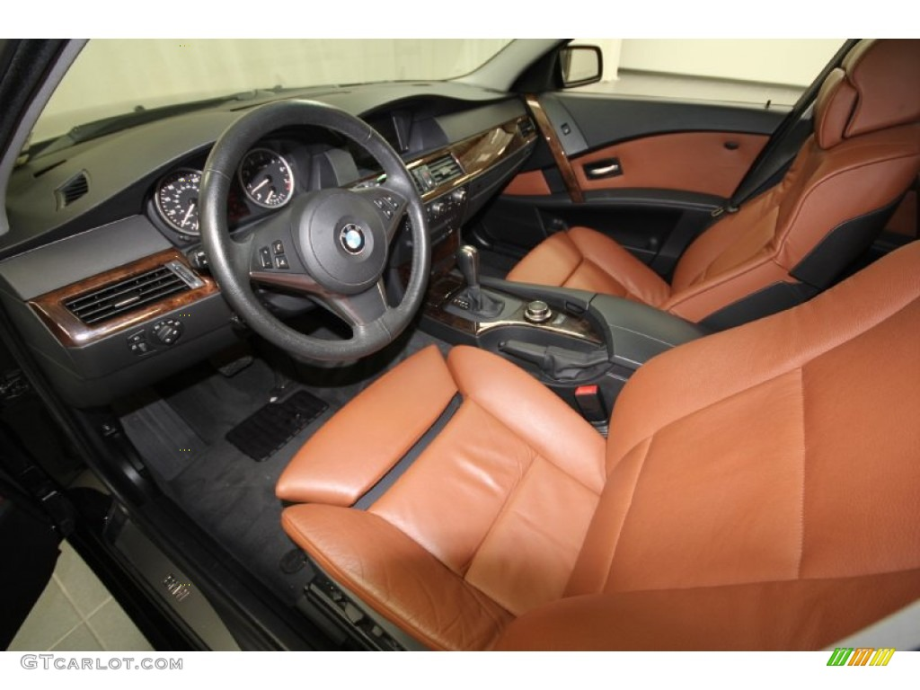 Auburn Interior 2007 BMW 5 Series 530i Sedan Photo  59377694     Auburn Interior 2007 BMW 5 Series 530i Sedan Photo  59377694