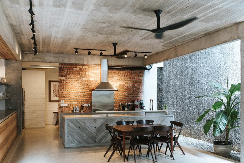 Ttdi Single Storey Terrace House Redesigned Into A Modern
