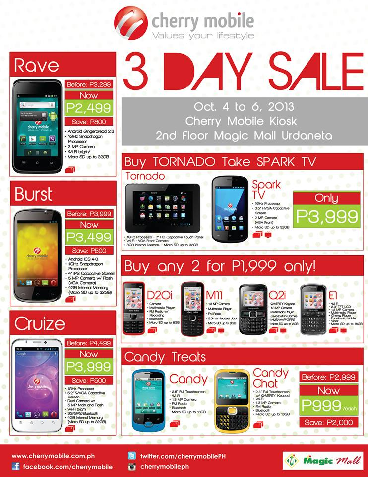 Price List Mobile Cherry Tablet