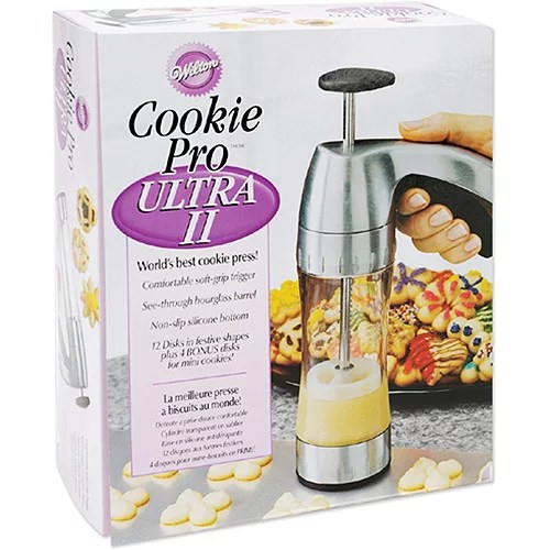 Wilton Cookie Pro Ultra 2 Cookie Press   Shop Baking and Decorating     Wilton Cookie Pro Ultra 2 Cookie Press   Shop Baking and Decorating Tools  at HEB