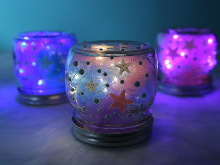 This Diy Galaxy Night Light Will Make Your Living Space So