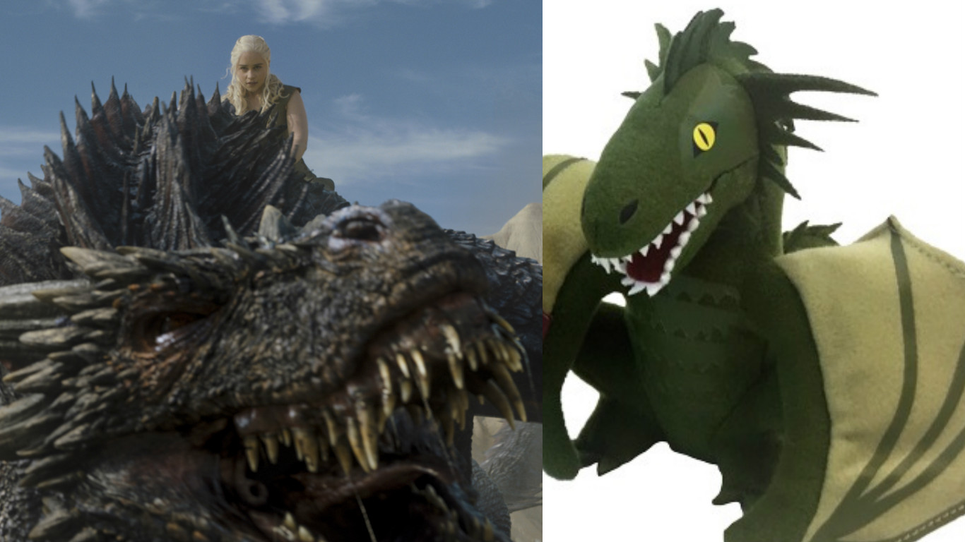 You Can Buy Daenerys S Stuffed Dragons At Comic Con This