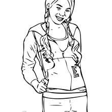 high school musical coloring pages # 5