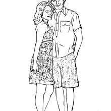 high school musical coloring pages # 14