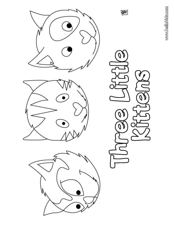coloring pages kittens # 78