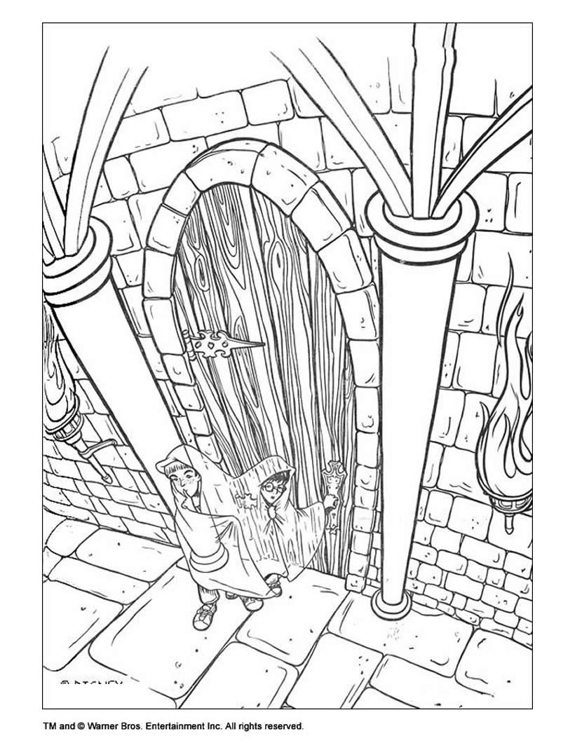 Harry Potter Coloring Pages Hellokids