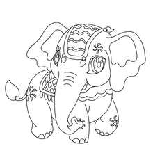 coloring pages elephant # 66