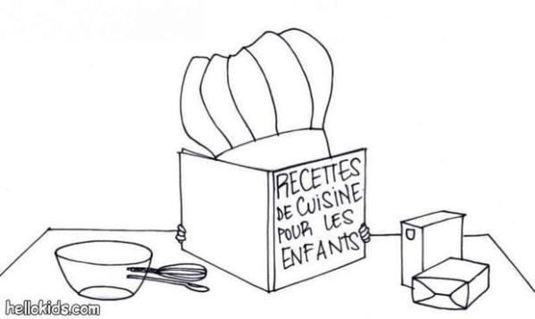 cooking coloring pages # 25