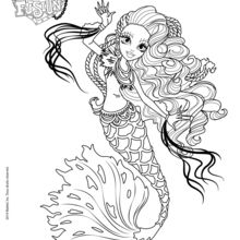 printable monster high coloring pages # 35