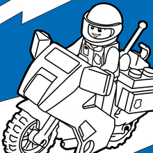 legos coloring pages # 25