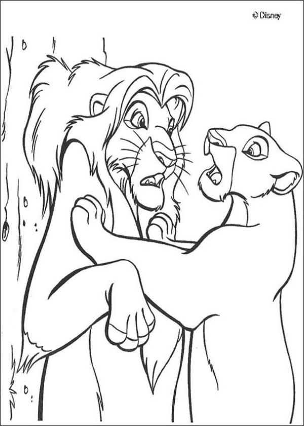 simba coloring page # 15