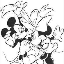 minnie and mickey mouse coloring pages # 19