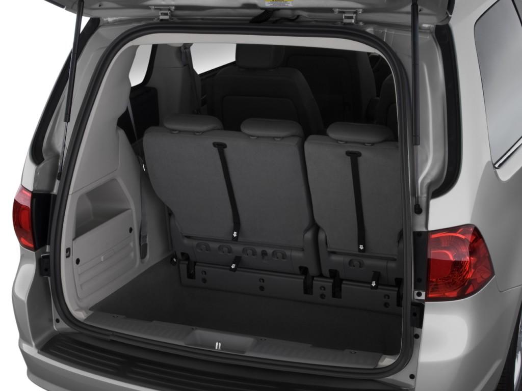 Image 2010 Volkswagen Routan 4 Door Wagon Se Trunk Size