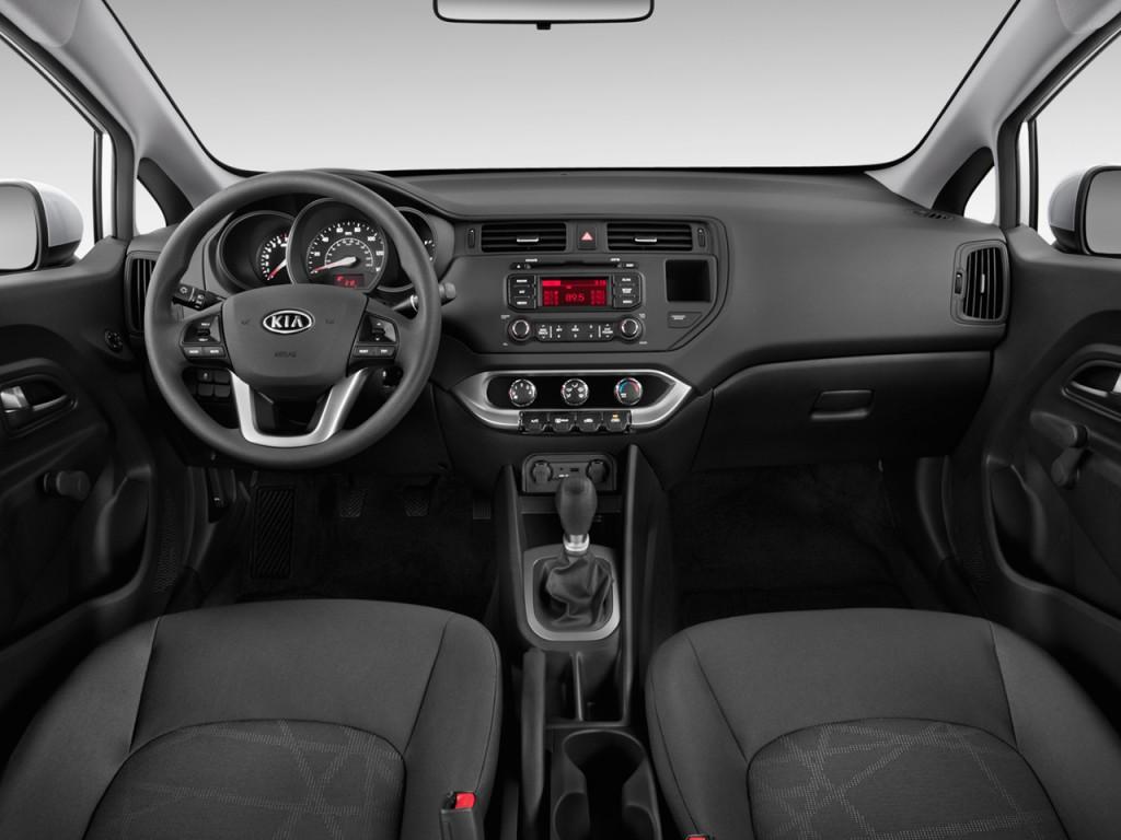 Image 2013 Kia Rio 4 Door Sedan Auto Lx Dashboard Size