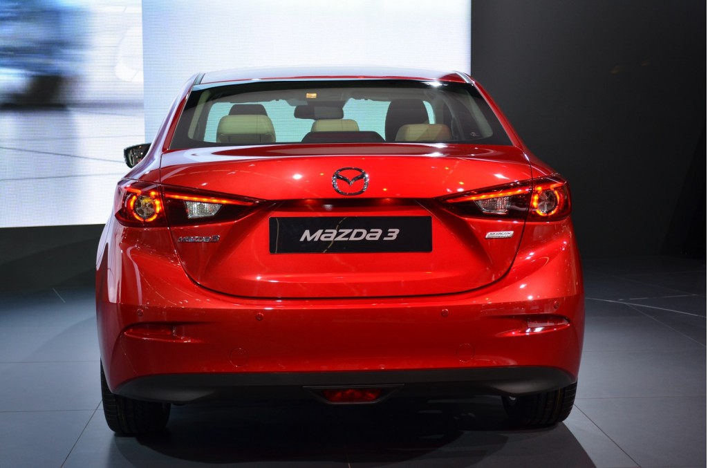 Image 2014 Mazda 3 Four Door Sedan 2013 Frankfurt Auto