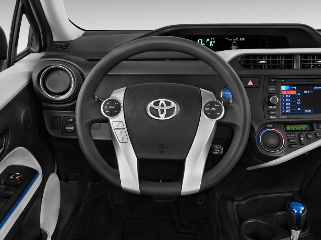 2013 Prius C Steering Wheel Cover