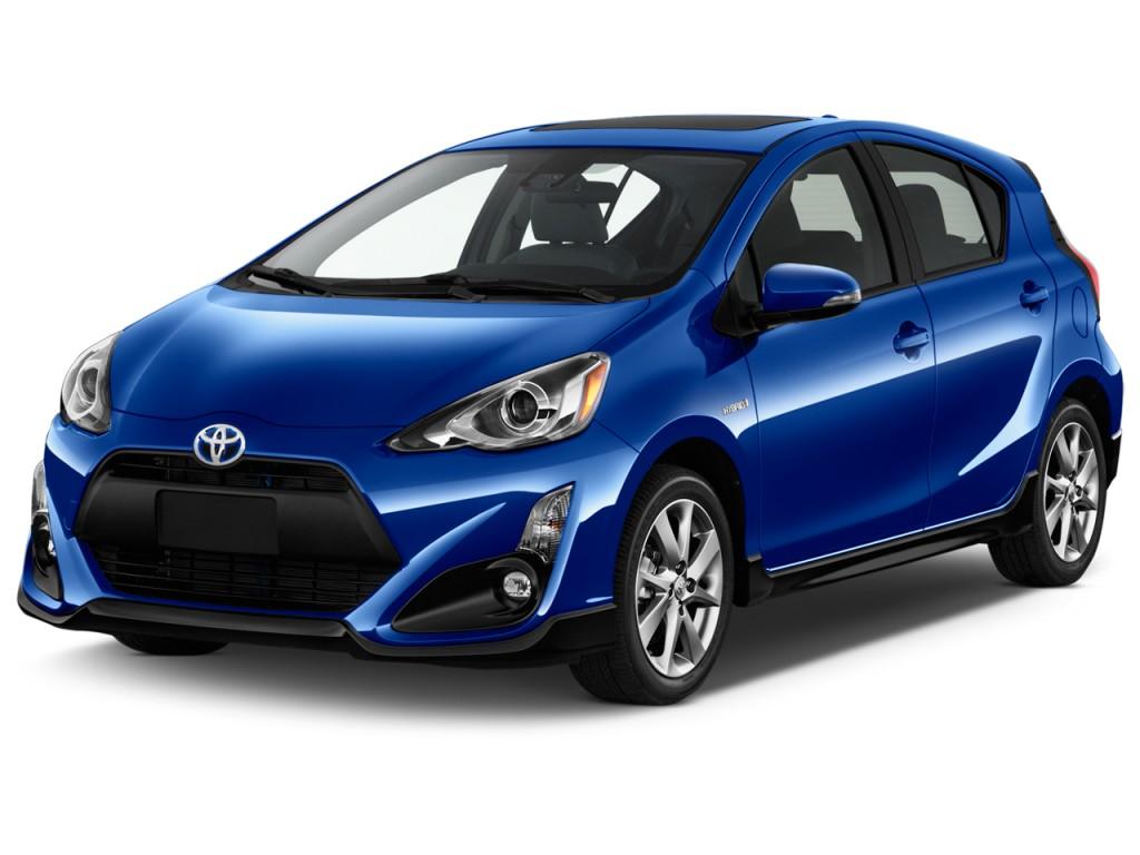 Image 2017 Toyota Prius C Four Natl Angular Front