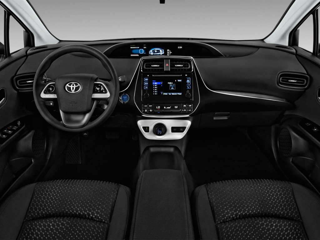 Image 2017 Toyota Prius Two Natl Dashboard Size 1024
